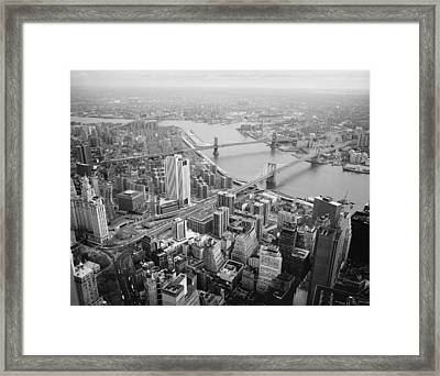 New York, 1982 Framed Print