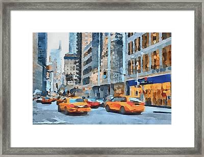 New York 2 Framed Print by Yury Malkov