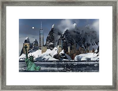 New York 3012 Framed Print by Daniel Hagerman