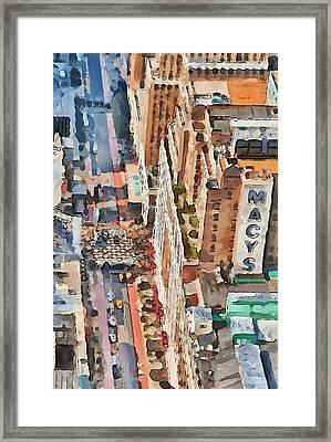 New York 5 Framed Print by Yury Malkov