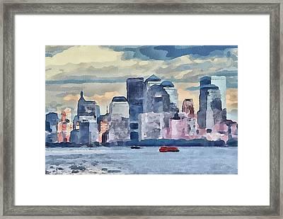 New York 7 Framed Print by Yury Malkov