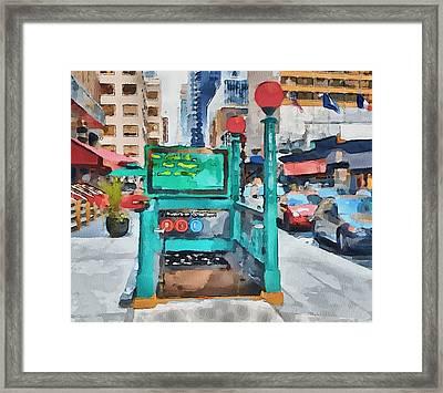New York 8 Framed Print by Yury Malkov