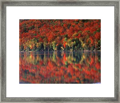 New York, Adirondack Mountains Framed Print