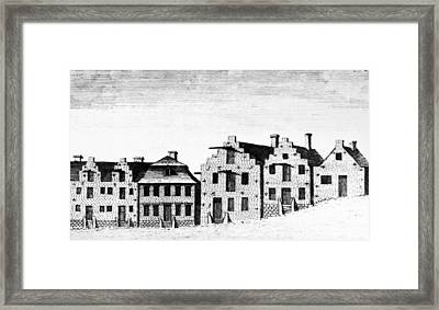 New York Albany, 1791 Framed Print