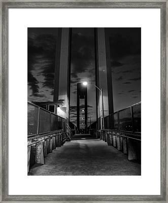 New York Bridge Framed Print