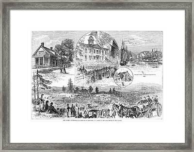 New York Centennial, 1877 Framed Print