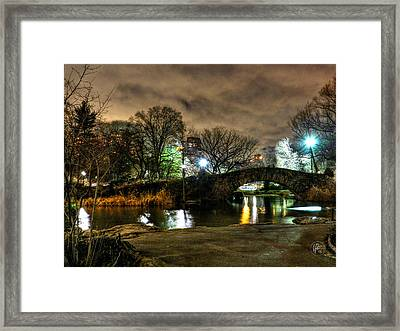 New York - Central Park 009 Framed Print by Lance Vaughn