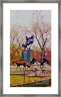 New York Central Park Framed Print