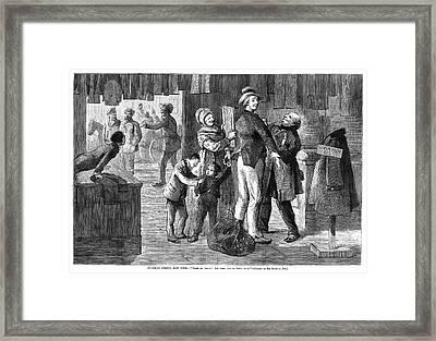 New York Chatham Street Framed Print by Granger