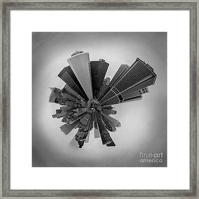 New York Circagraph 5 Framed Print by Az Jackson