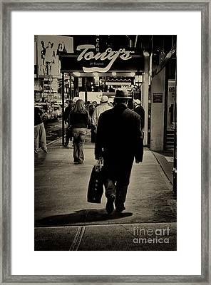 New York City 1 Framed Print by Bob Stone