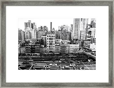 New York City - Above It All Framed Print by Vivienne Gucwa