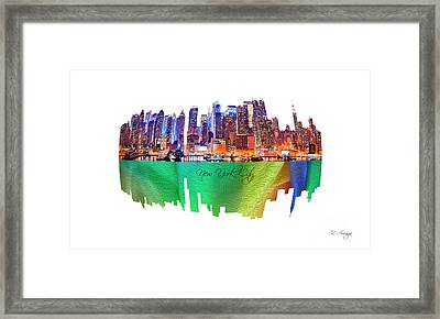 New York City Art Collection No. 200 Framed Print