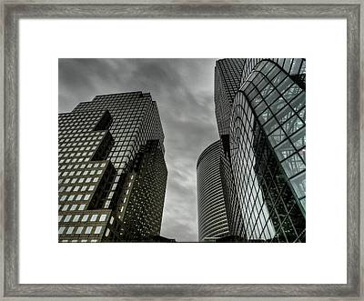 New York City - Battery Park 001 Framed Print by Lance Vaughn