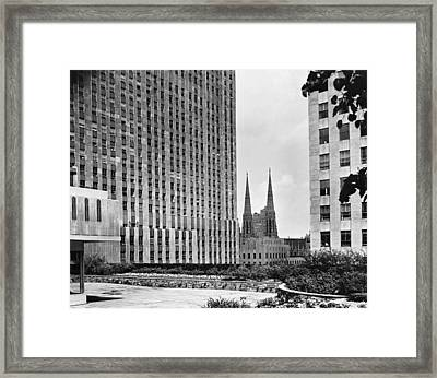 New York City, C1950 Framed Print by Granger