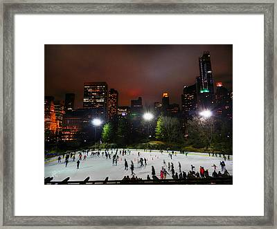 New York City - Central Park 005 Framed Print by Lance Vaughn
