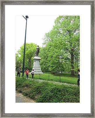New York City - Central Park - 121216 Framed Print