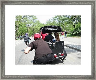 New York City - Central Park - 12125 Framed Print by DC Photographer