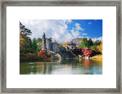 New York City Central Park Belvedere Castle Framed Print
