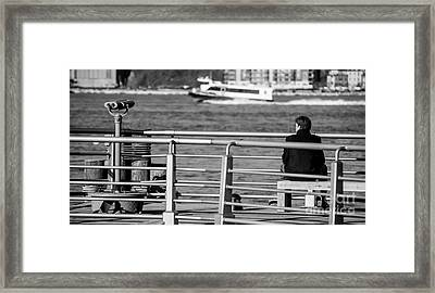 New York City Details. Framed Print by Luca Venturelli