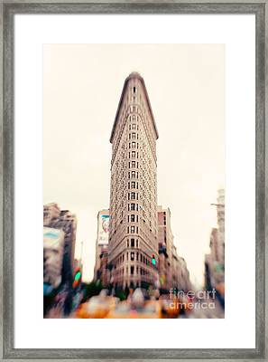 New York City Flatiron Building Framed Print by Kim Fearheiley