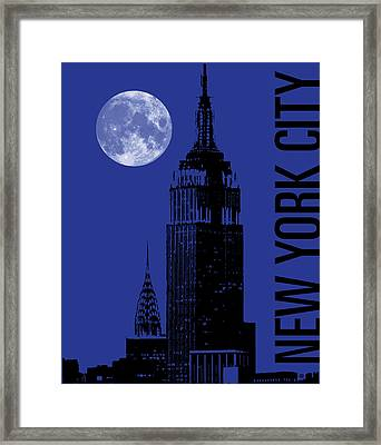 New York City Framed Print by Gary Grayson