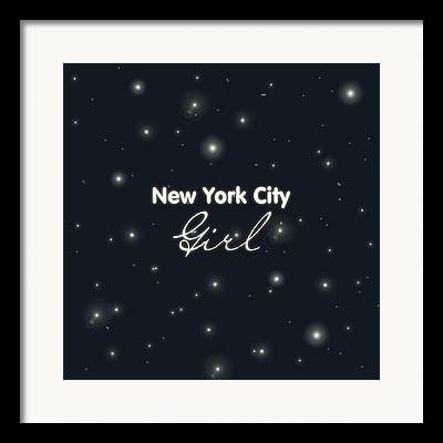 Times Square Digital Art Framed Prints