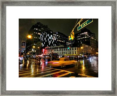 New York City - Greenwich Village 001 Framed Print