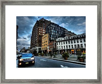 New York City - Greenwich Village 006 Framed Print by Lance Vaughn