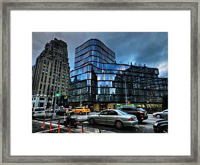 New York City - Greenwich Village 010 Framed Print by Lance Vaughn