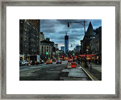 New York City - Greenwich Village 014 Framed Print by Lance Vaughn