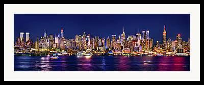 Midtown Manhattan Framed Prints
