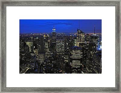 New York City Framed Print by Paul Van Baardwijk