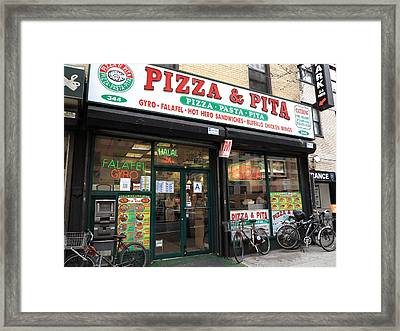 New York City Storefront 6 Framed Print