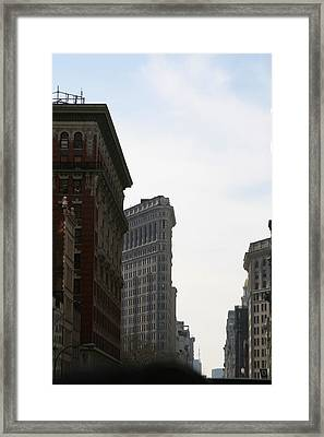 New York City - Sights Of The City - 121217 Framed Print by DC Photographer