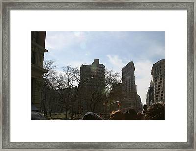 New York City - Sights Of The City - 121218 Framed Print by DC Photographer