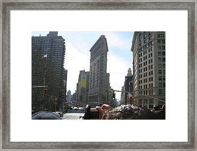 New York City - Sights Of The City - 121219 Framed Print by DC Photographer