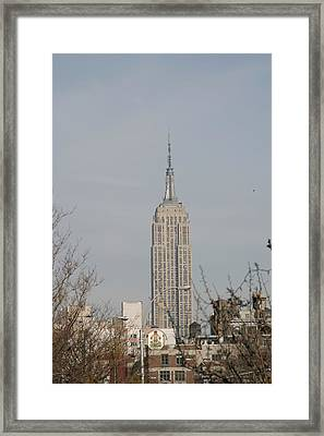 New York City - Sights Of The City - 121223 Framed Print