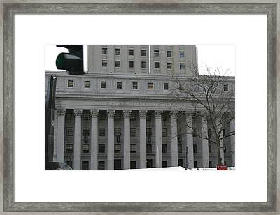 New York City - Sights Of The City - 121227 Framed Print