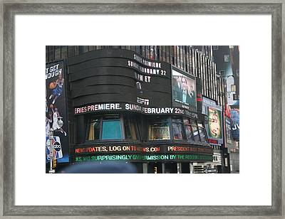 New York City - Sights Of The City - 12125 Framed Print by DC Photographer