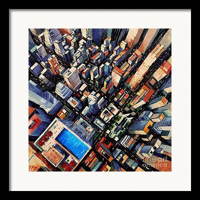 Urban Planning Framed Prints