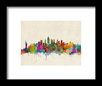 New York Framed Prints