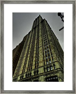 New York City - The Woolworth Building Framed Print