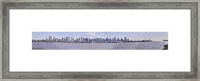 New York City Framed Print by Theodore Jones