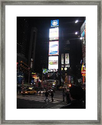 New York City - Times Square - 121215 Framed Print by DC Photographer