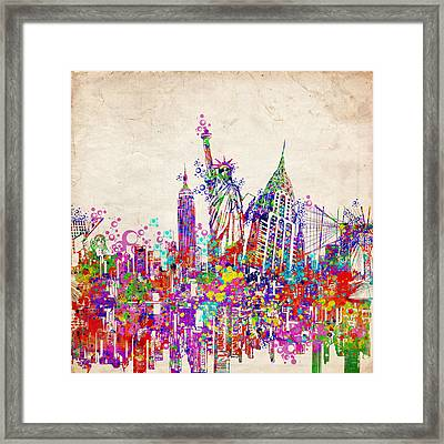 New York City Tribute 2 Framed Print