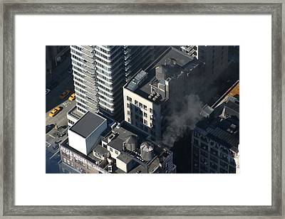 New York City - View From Empire State Building - 121232 Framed Print by DC Photographer
