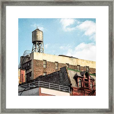 New York City Water Tower 2 Framed Print