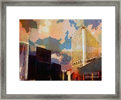 New York Colors Framed Print by Lutz Baar