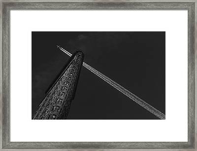 New York - Flatiron Crossing Framed Print
